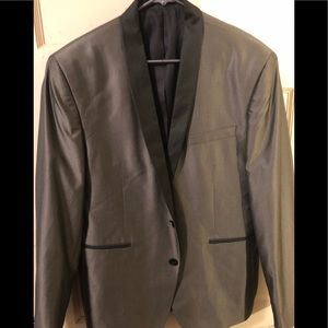 Bar III sport coat Olive with black